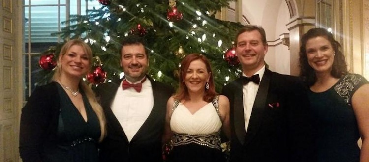 Lansdowne Singing Quartet at Lansdowne House
